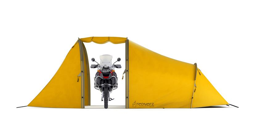 Redverz Motorcycle Expedition Tent