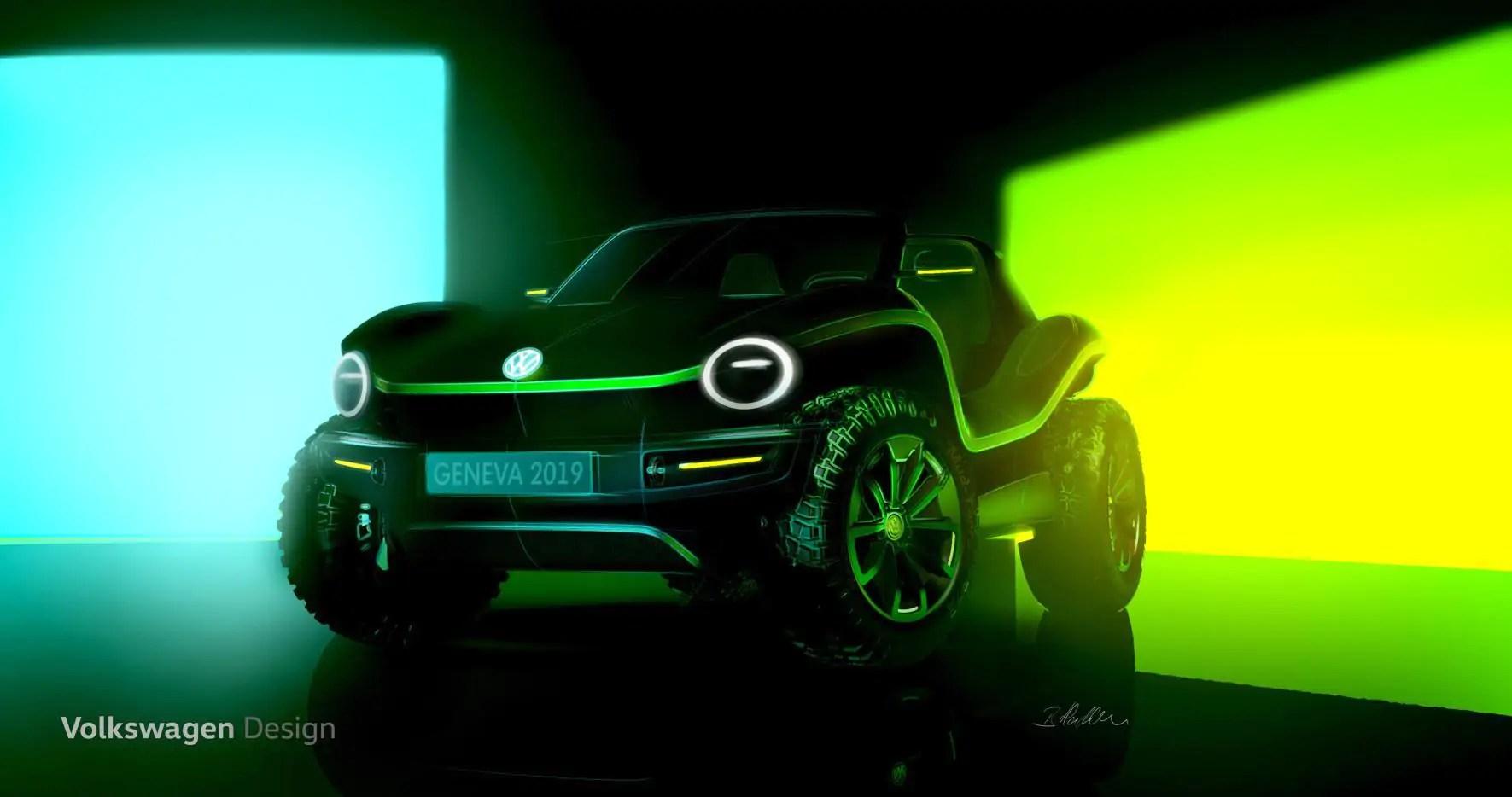 Volkswagen Buggy: concept car elettrica al Salone di Ginevra