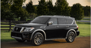 2018 Nissan Armada Platinum with Intelligent Rear View Mirror