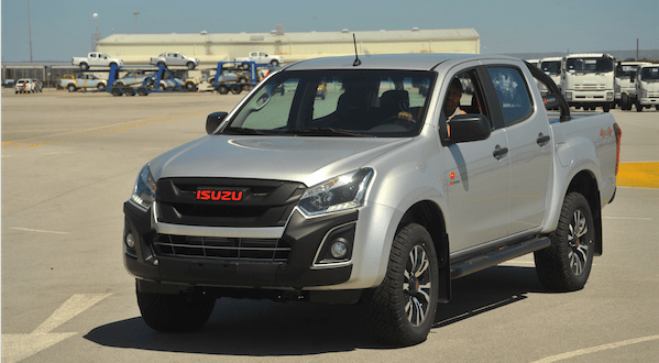 The left-hand-drive Isuzu KB-X-Rider is ready to join the line-up in Sub-saharan African markets (Photo: QuickPic)