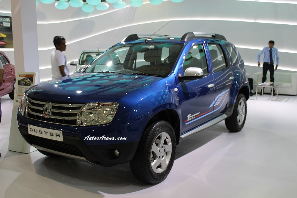 renault launches duster anniversary edition in cosmos blue colour. Black Bedroom Furniture Sets. Home Design Ideas