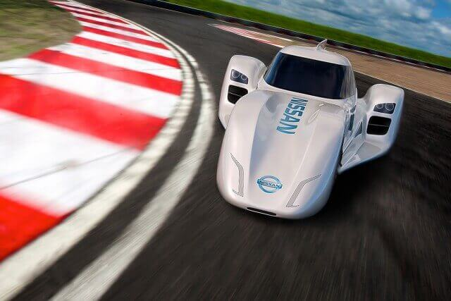 Nissan ZEOD RC electric car