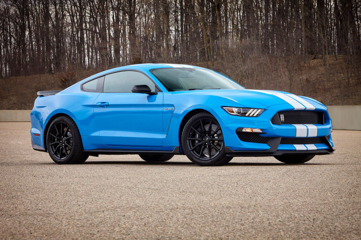 2020 Ford Shelby GT350 in Grabber Blue