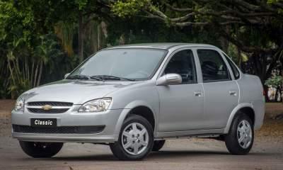Chevrolet Classic sai de linha no Brasil