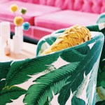 Palm Leaf Vintage Chairs