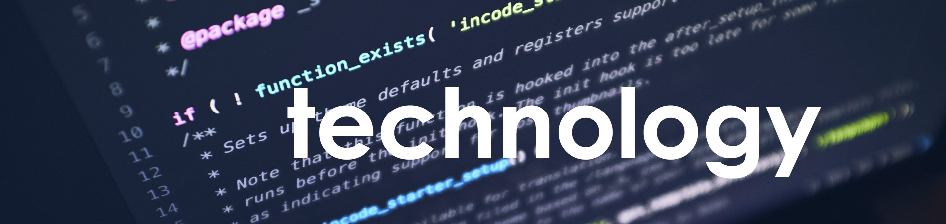 Website-Header-Technology
