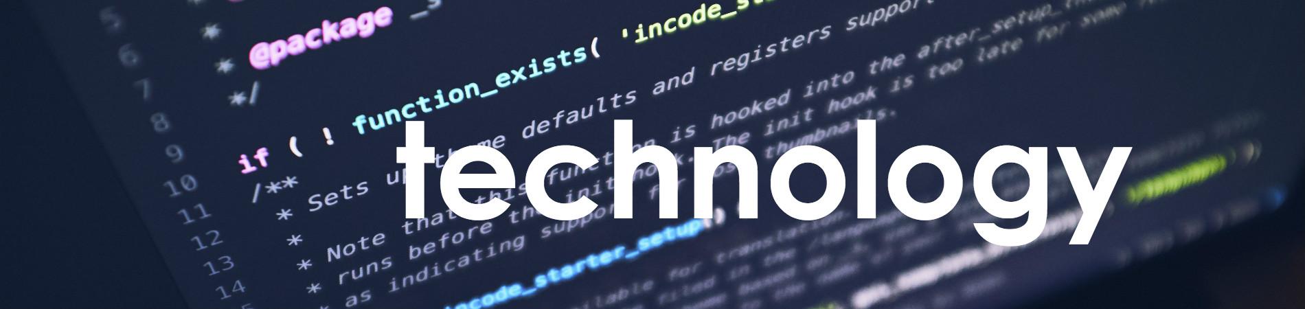 Website-Header-Technology