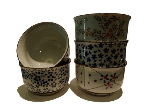 Tasses chinois en porcelaine