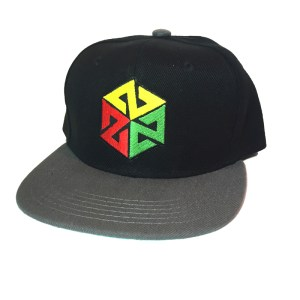 AVALON7 INSPIRACON RASTA KIDS SNAPBACK HAT