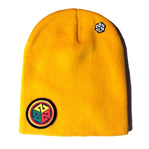 AVALON7 Rasta Inspiracon Winter Snowboarding Beanie yellow