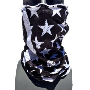 breathable mesh tube american flag facemask