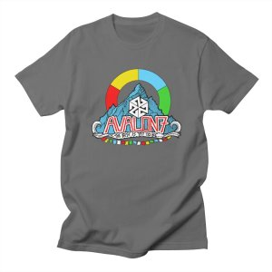 AVALON7 The Best Is Yet To Be Mountain Tshirt