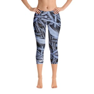 driftwood capri yoga pants by AVALON7
