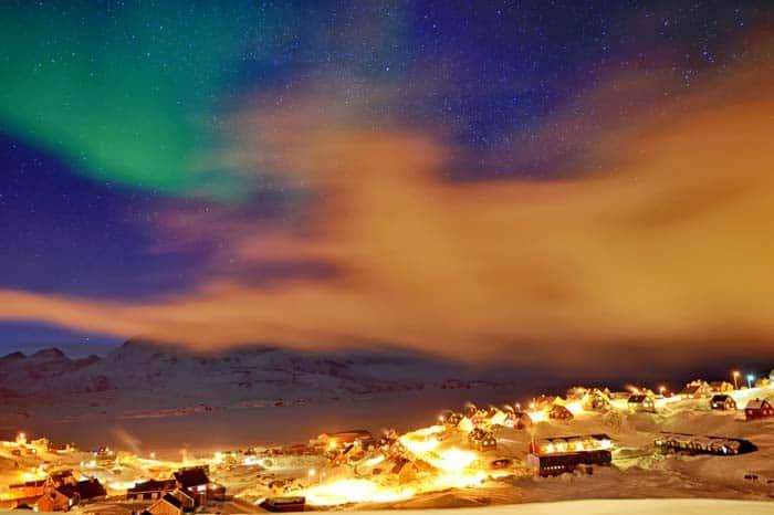 Tasiilaq village in Greenland