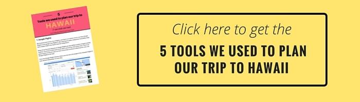 5 tools Hawaii