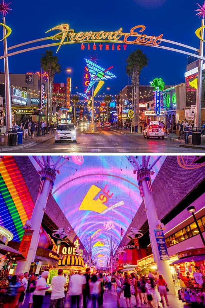 Fremont street Las Vegas!