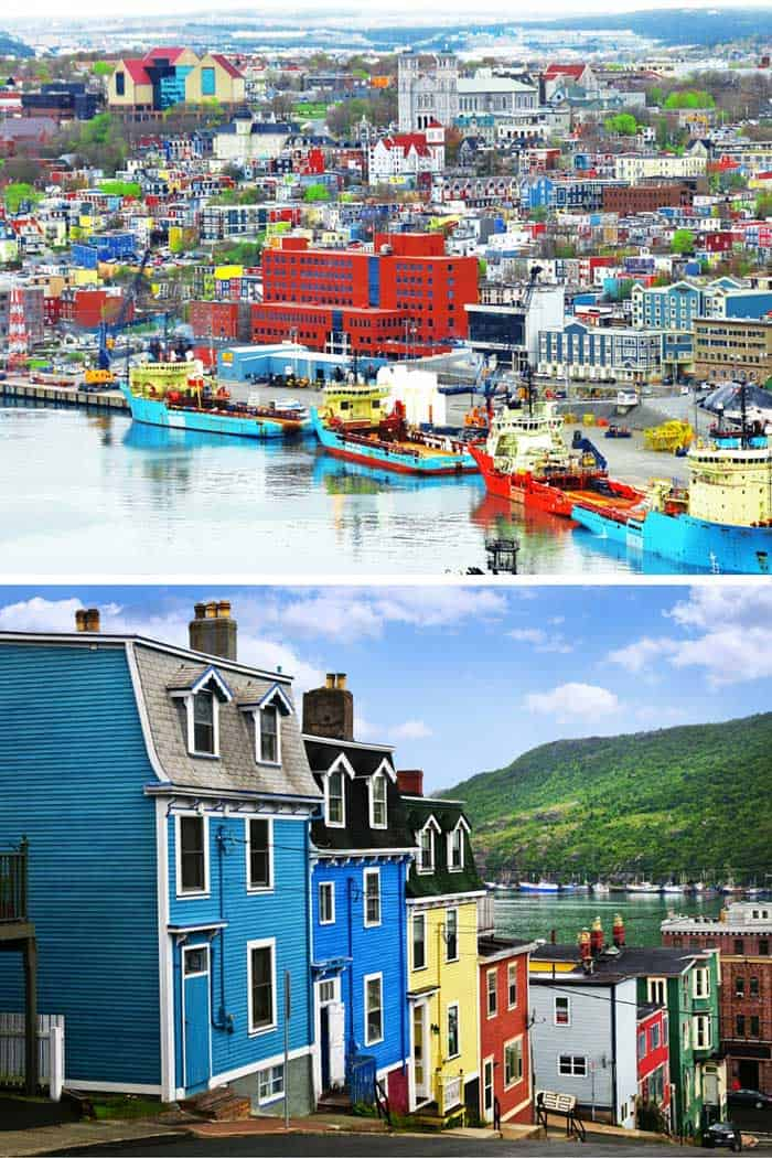 St. John's, Newfoundland, Canada! Click through to see some of the most colorful cities in the world! This post does not contain industrial soot stained cities; instead it showcases some of the most vibrant looking cities in the world.