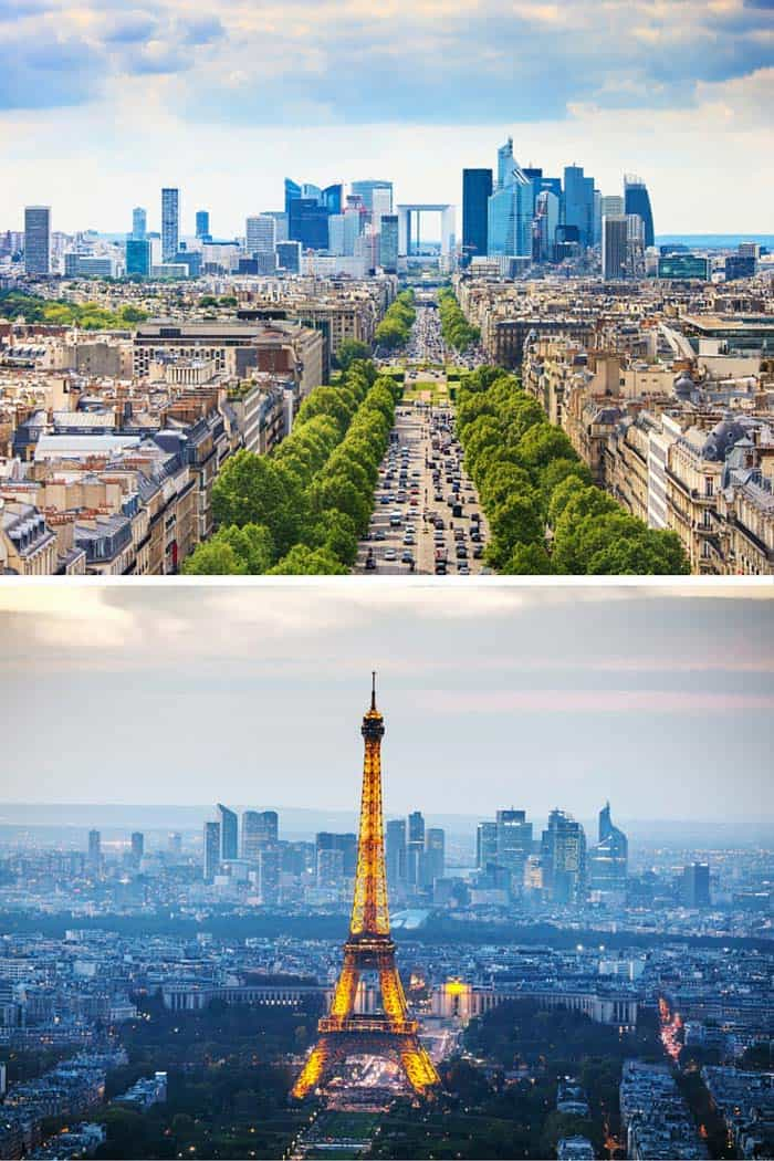 I don't care what you say, to me Paris is the most romantic city on Earth. It is also home to an incredible skyline. Click through to see 18 of the BEST skylines in the world!