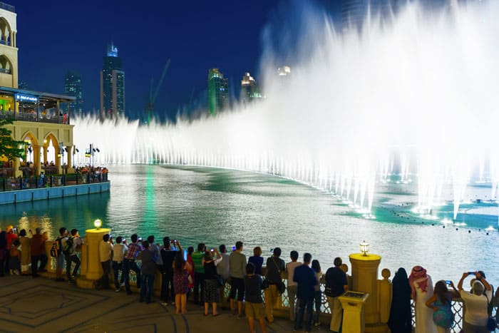 Dubai fountain!