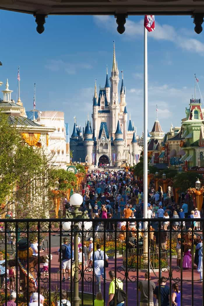 Disney World castle in Orland, Florida!