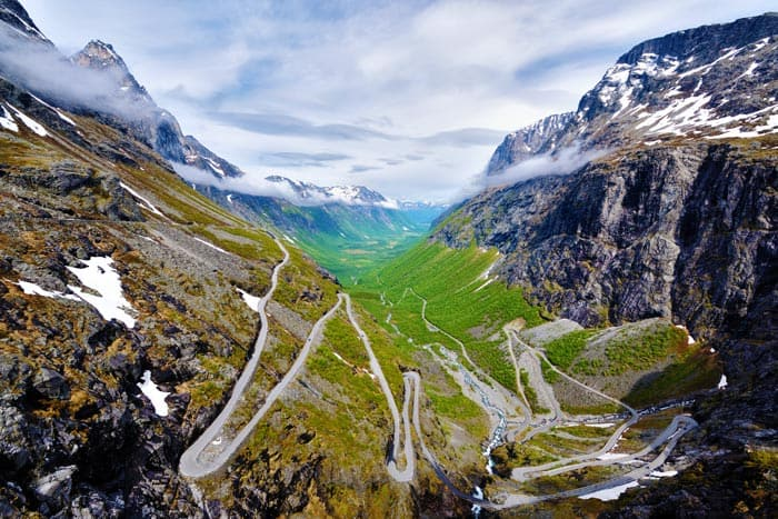 Trollstigen Mountain Road.