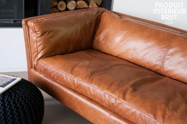 La Décoration De Mon Salon Pour La Rentrée Aventure Déco - Canape cuir caramel