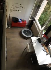 Réaménagement d'un studio avec mezzanine
