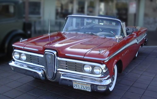 OH!!  Tell me you don't like an Edsel in the 'vert configuration???!!!