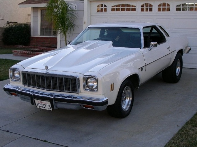 1975 Chevelle....the hood wasn't an option!!!