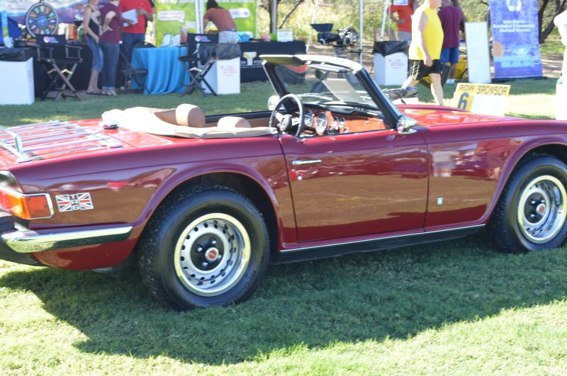 This TR6 was a highlight.