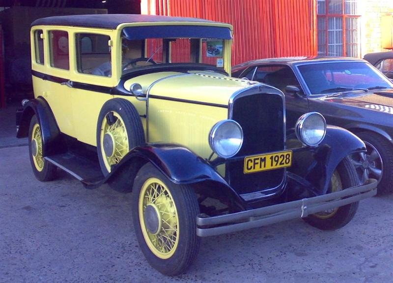 1928 Chrysler De Soto