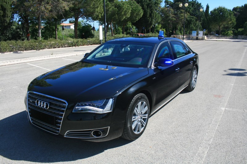 Armored Audi