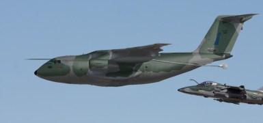 KC-390. Concepção artística de Leonardo Jones