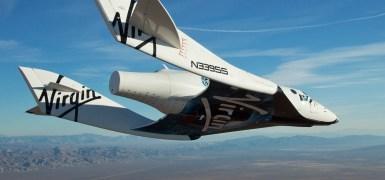 Primeiro teste de voo da SpaceShipeTwo
