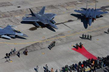 usaf F-22A raptor kadena air base