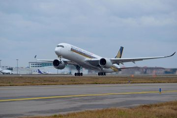 A350 900 Singapore Airlines