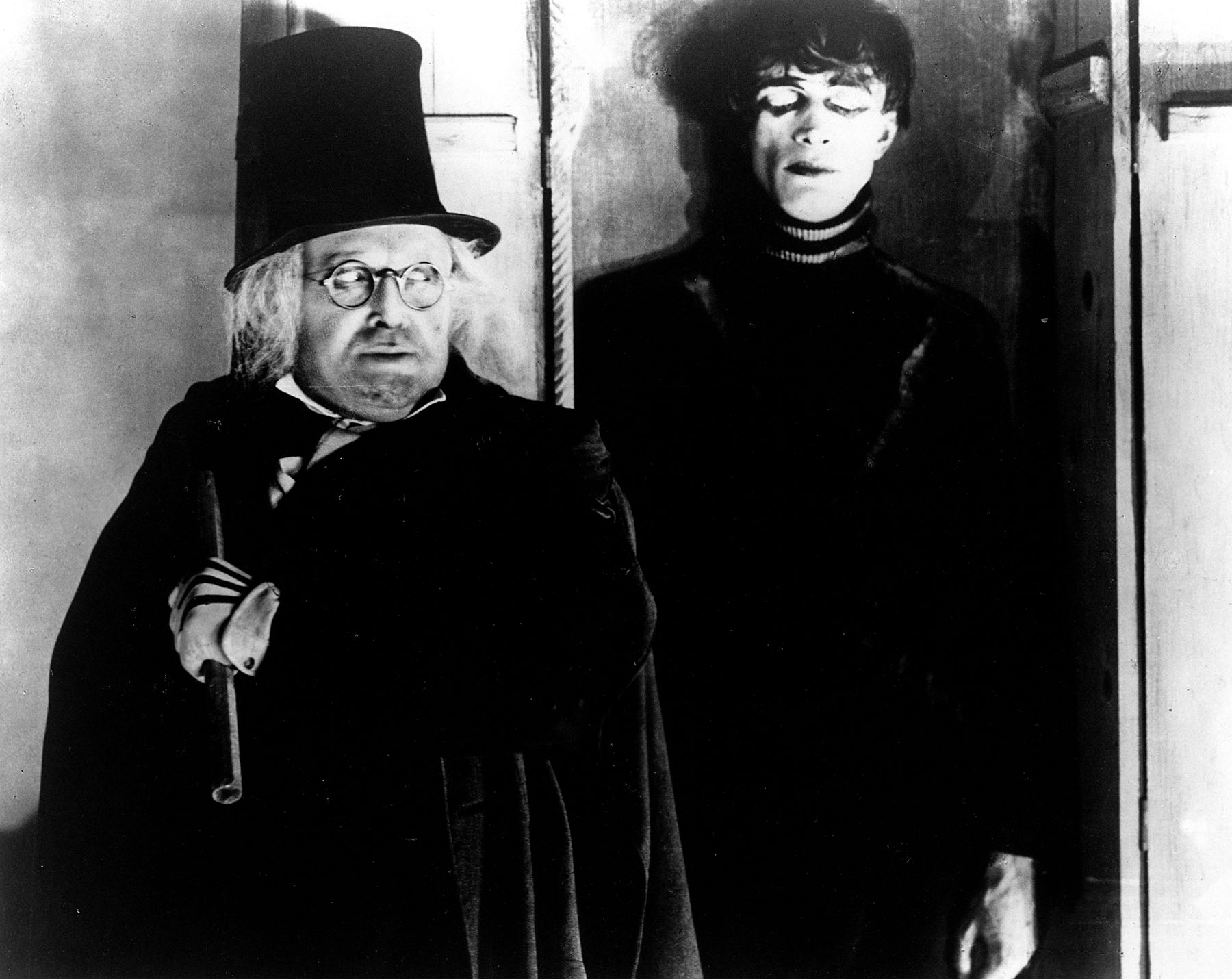 Youtube film archives a view to a queue - Cesare the cabinet of dr caligari ...