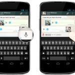 Whatsapp voice push to talk