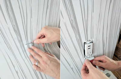 How to Install Removable Wallpaper - DIY Wallpaper Step by Step Guide