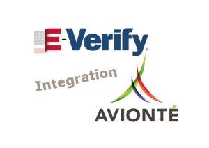Avionte E-Verify Integration