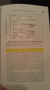 Misreading Masculinity - Math and Writing Gap