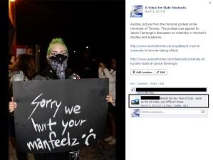 Masked Feminist on AVFMS 2