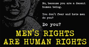 Mens Rights are Human Rights poster bottom featured image