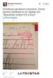 tweet beautifully written for a girl