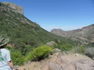 Jonathan Taylor, Hiking, Big Bend, Lost Mine Trail