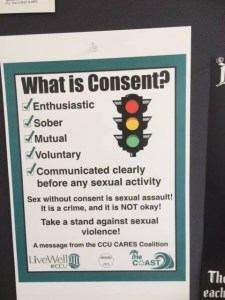 Flyer - What is Consent - Coastal Carolina University