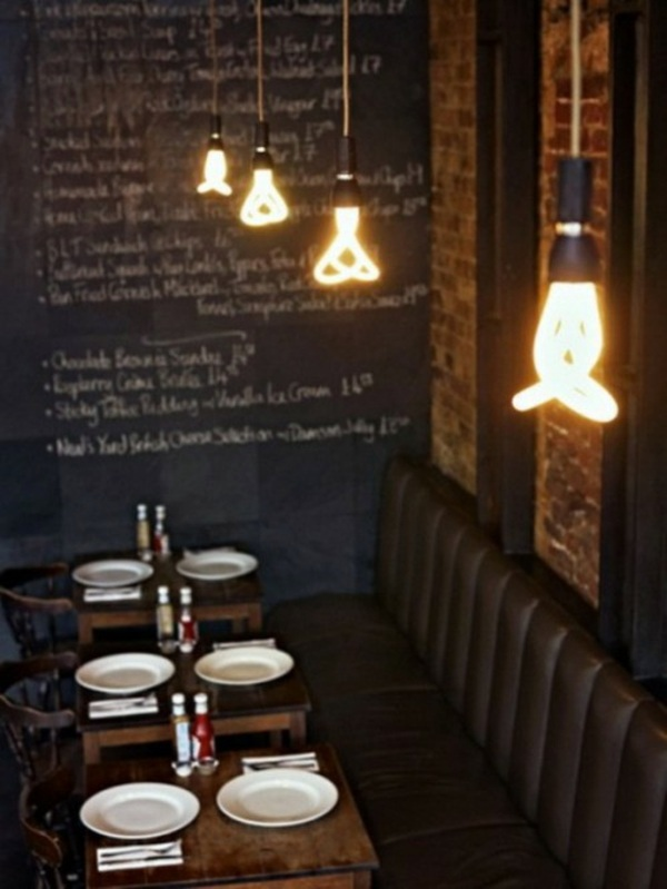 37 cool lamps which consist almost entirely of light bulbs cafe lighting ideas