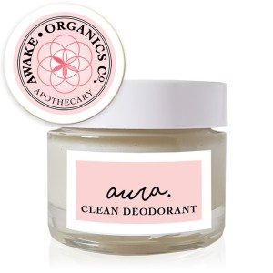 Aura Clean Deodorant. Natural Deodorant That Works. Organic. By Awake Organics.