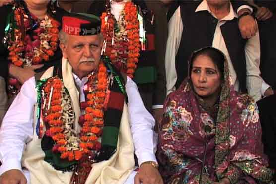 Nighat Orakzai and Iftikhar Jhagra