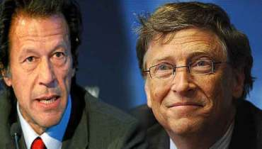 Imran Khan and Bill Gates